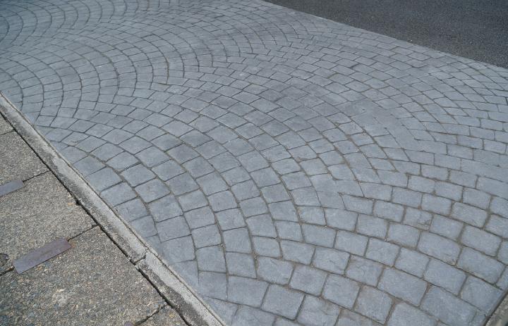 スタンプコンクリート工法