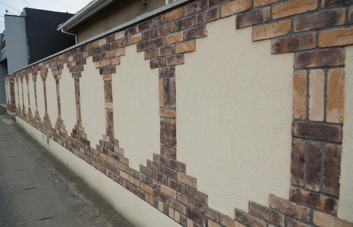 塀のオリジナルデザイン
